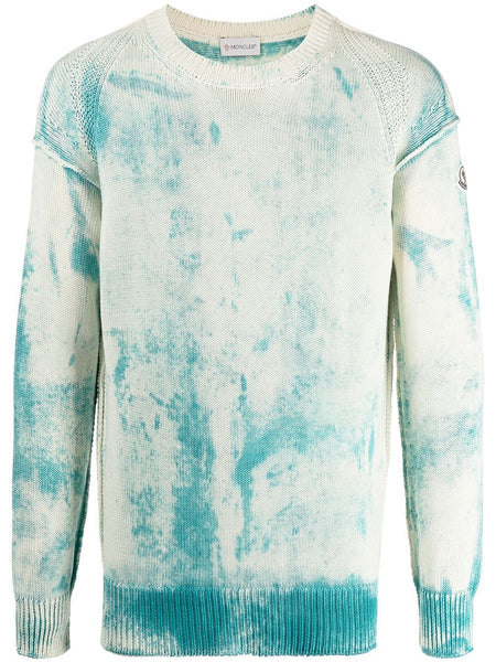 Tie-Dye Cotton Jumper