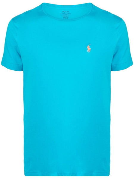 Polo Pony-Embroidered Cotton T-Shirt