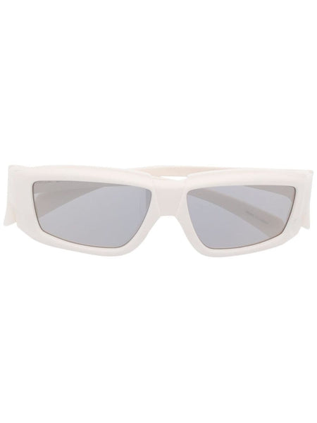 Rectangulaf-Frame Sunglasses