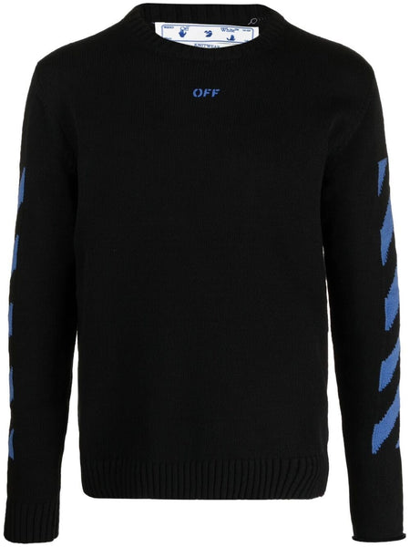 Intarsia-Knit Long-Sleeve Jumper