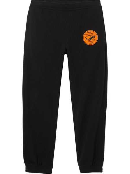 Shark-Appliqué Track Pants