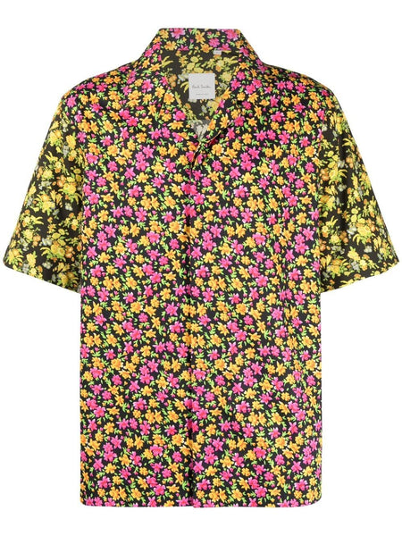 Floral-Print Hawaiian Shirt