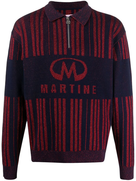 Logo-Embroidered Knitted Jumper