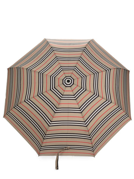 Vintage Check Striped Umbrella