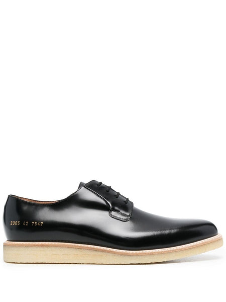 High-Shine Derby Shoes