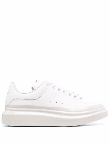 Oversized Contrasting-Sole Sneakers