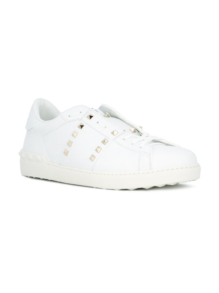 Valentino Rock Stud Untitled Sneaker White