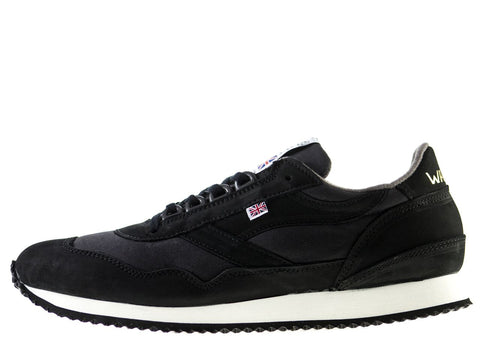 8318086190607 Walsh Ensign Millerain Sneakers Black