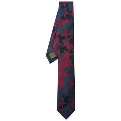 Valentino Star Camo Tie Red - The Business Fashion