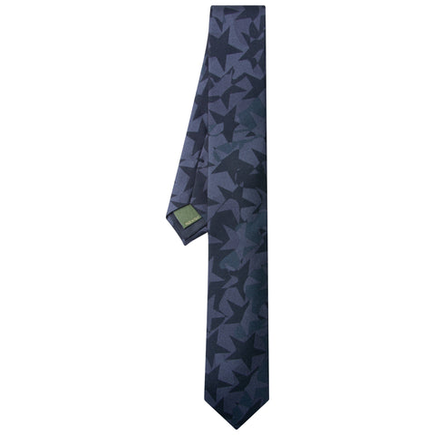 Valentino Star Camo Tie Black - The Business Fashion