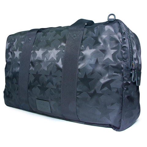 Valentino Camouflage Black Camouflage Star Holdall - The Business Fashion - 1