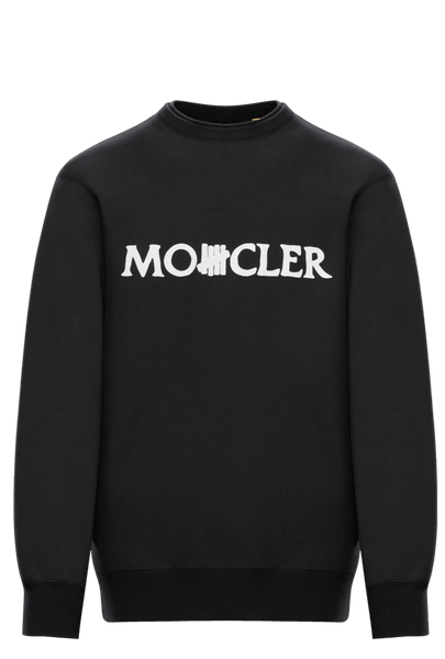 2 Moncler 1952 Undefeated Black Logo Sweatshirt
