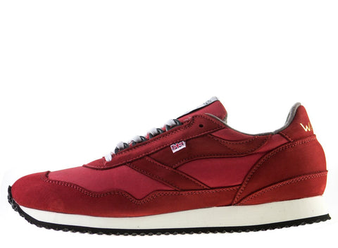 Walsh Ensign Millerain Sneakers Red