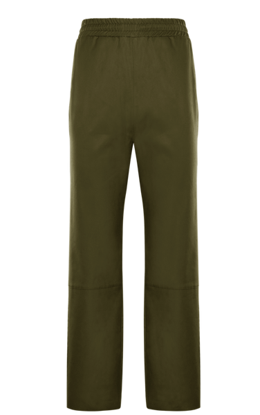 2 Moncler 1952 Green Drawstring Trousers