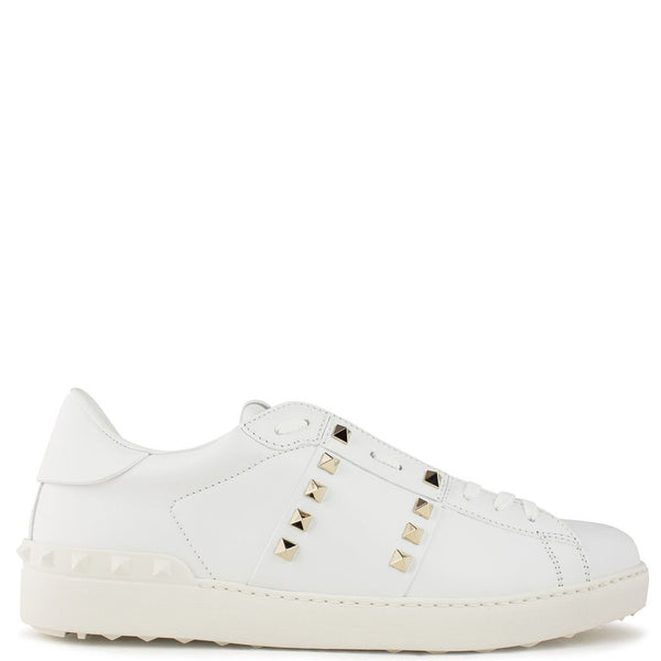 Valentino Rockstud Untitled Sneaker White - The Business Fashion - 1