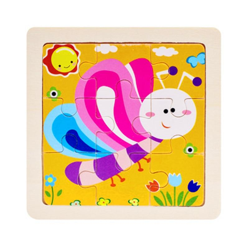 Kids Wooden Educational Toy Puzzle