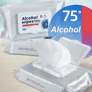 Disposable Antibacterial Wipes