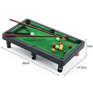 Mini Billiards Pool Board Game
