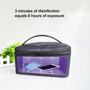 UVC Disinfection Portable Pack Bag