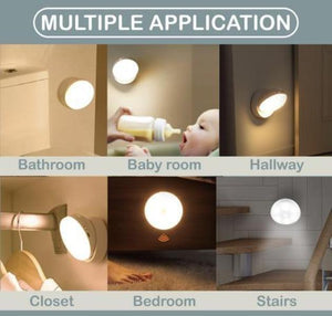 360 Smart Motion Sensor Magnetic LED Light