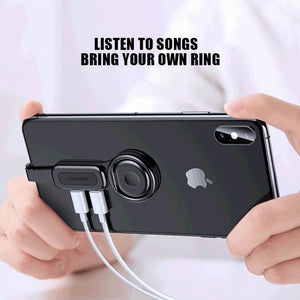 4 In 1 Lighting Adapter for IPhone Headphone Converter