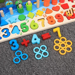 Educational Wooden Counting Toy