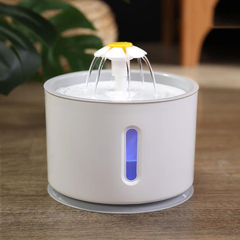 Small Flower Pet Automatic Water Dispense