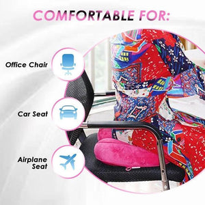 Foldable Dual Comfort Seat Cushion