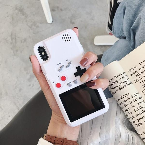 Color Screen Game Phone Case For iPhone