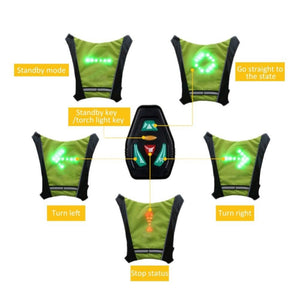 The LED Vest Within Direction Indicators