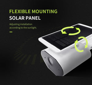 Solar Powered Wifi Security Camera