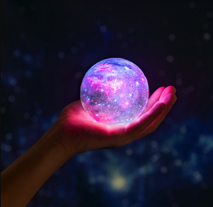 3D Print Star Moon Colorful Lamp