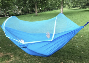 Mesh+ Camping Netted Hammock