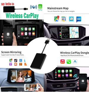 Carplay& Android Auto adapter--Suitable for all car brands