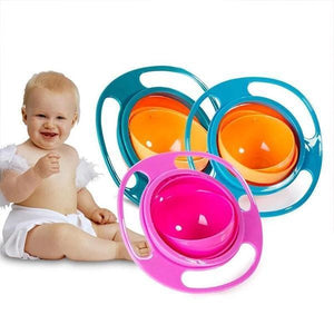 Spill Proof Saturn Baby Bowl