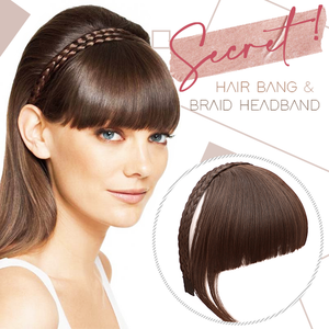 Secret Bang & Braid Headband