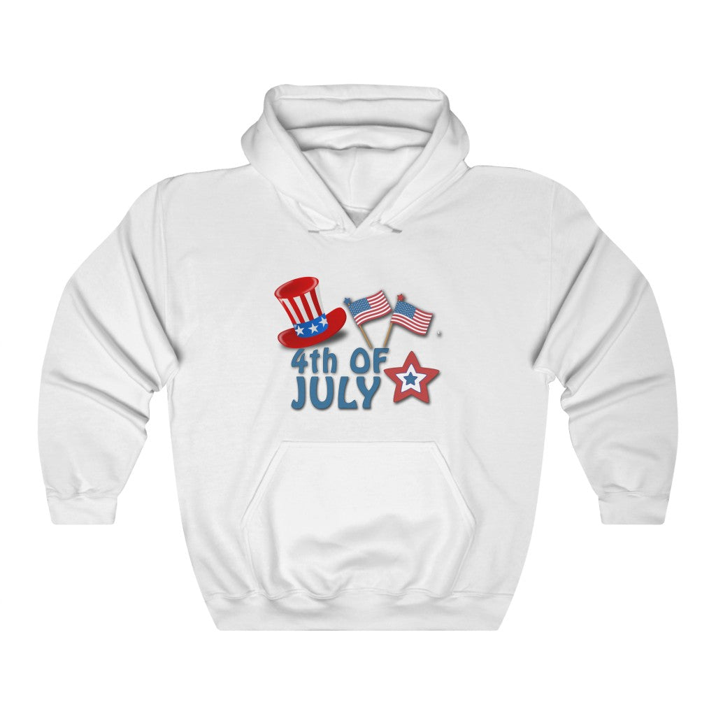 Star Flag 4th Of July Hoodie