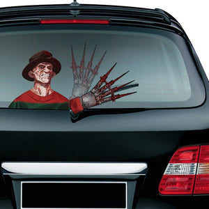 Christmas Halloween Car Rear Window decoration decal sticker