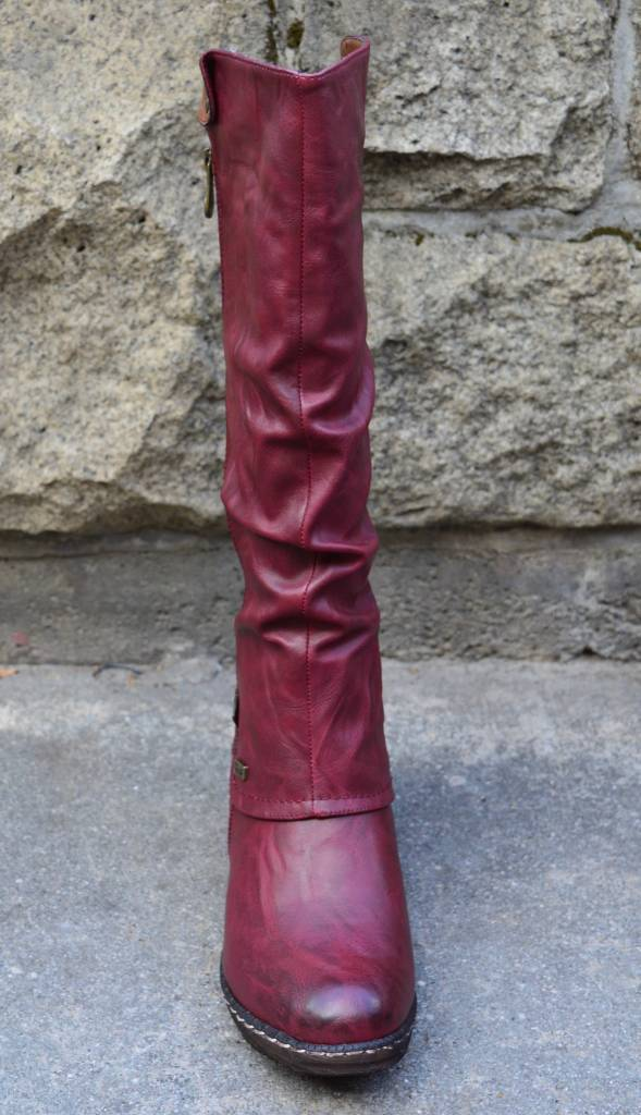 Womens Western Cowboy Knee Boots Punk Boots