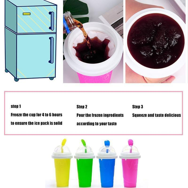 Quick-frozen smoothies