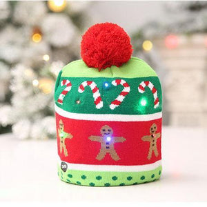 Christmas LED Beanie Hats
