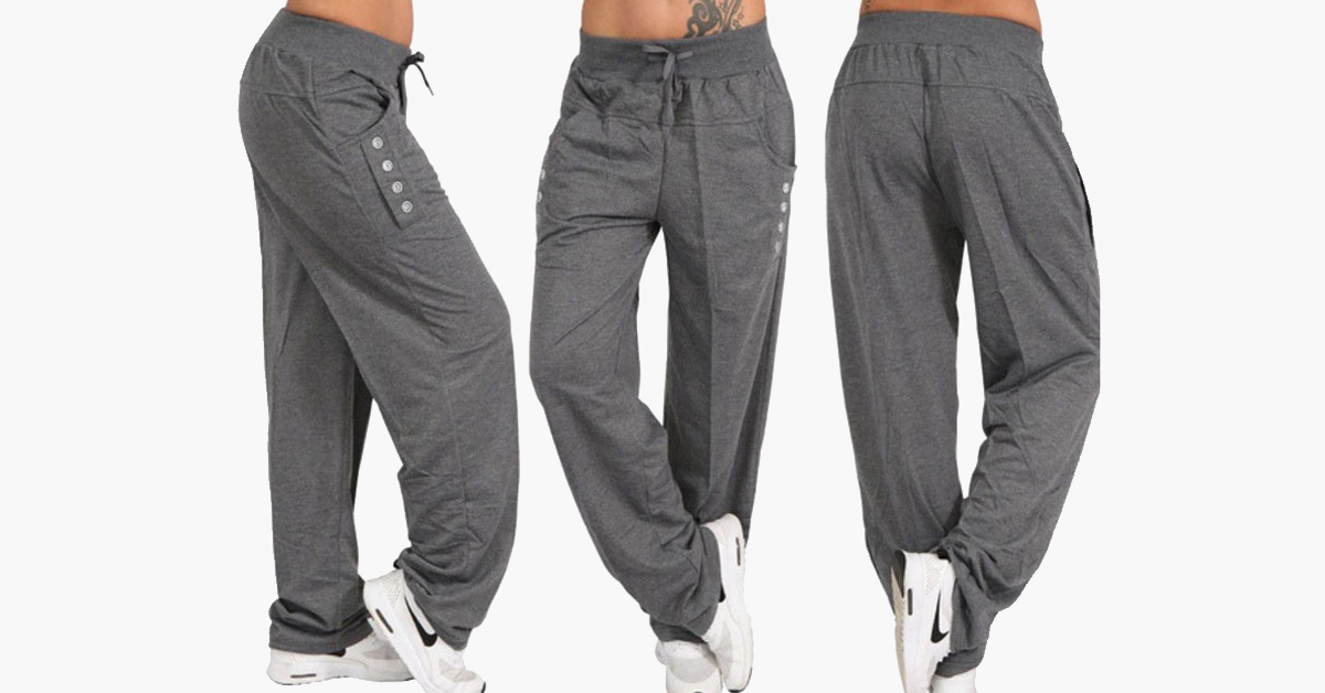 Casual Oversized Track Pants