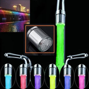 LED Colorful Glow Faucet Light (4 Pack)