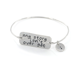 Semicolon Bangle - Florence Scovel - 1