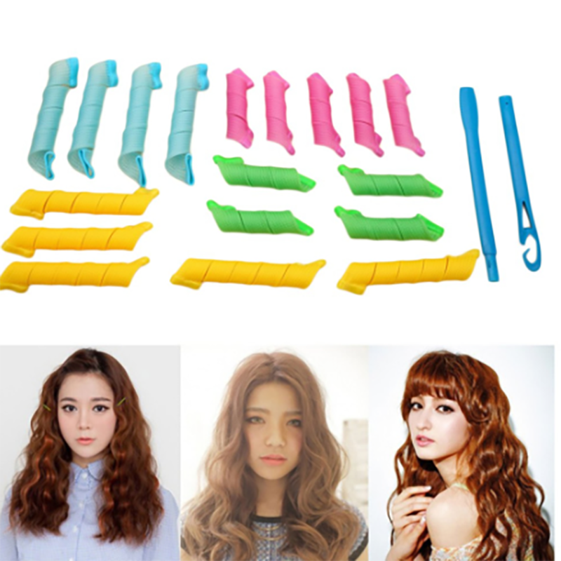 Magic Long Hair Curlers Spiral Ringlets