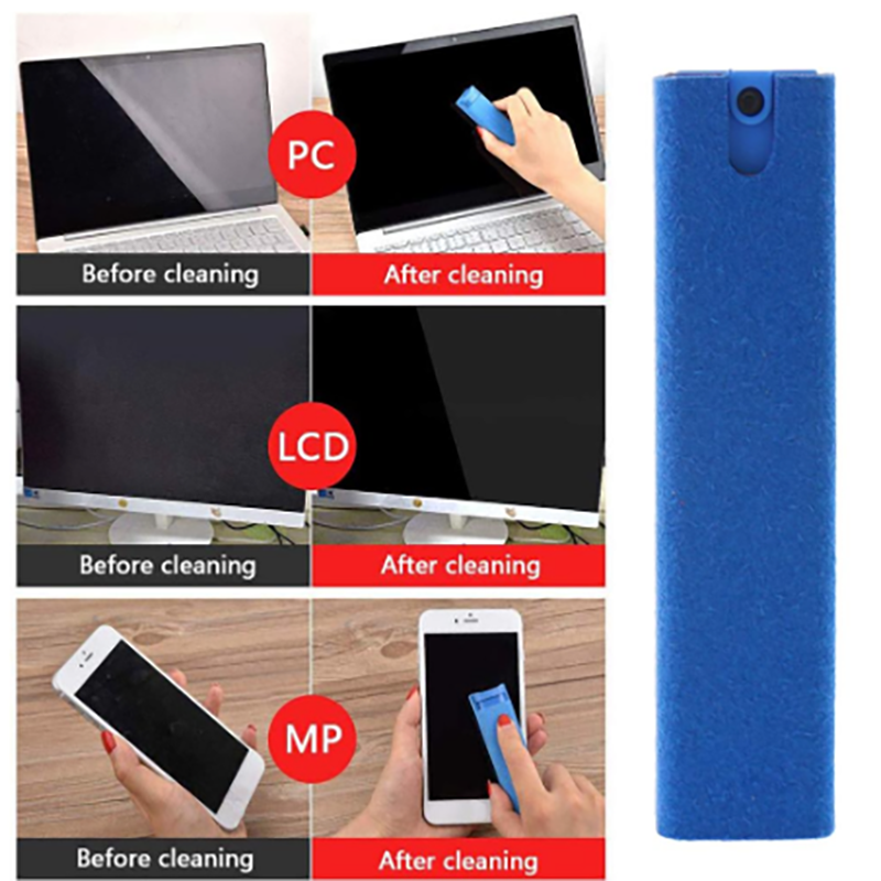 (TADAY 50% OFF!! )Reusable Phones Screen Cleaner Spray