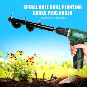 Spiral Hole Drill Planting & Grass Plug Auger
