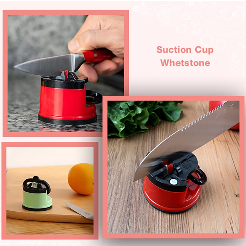 Kitchen Suction Cup Whetstone