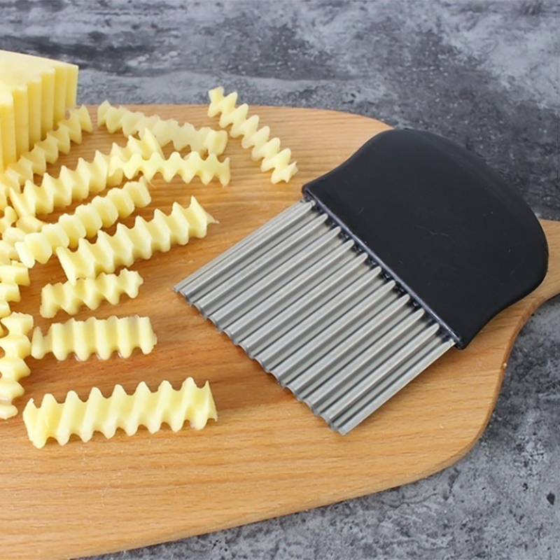 Wavy French Fries Cutter Potato Slicer