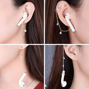 Anti-Lost Ear Clip Earrings Earphone Protector